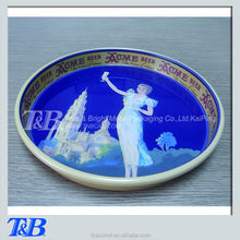 pretty lady pattern beer servingl tray