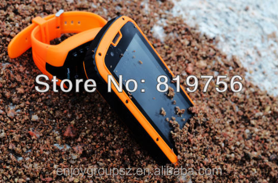 rugged waterproof cell phone 4.3inch touch screen android celular gorilla glass android phone