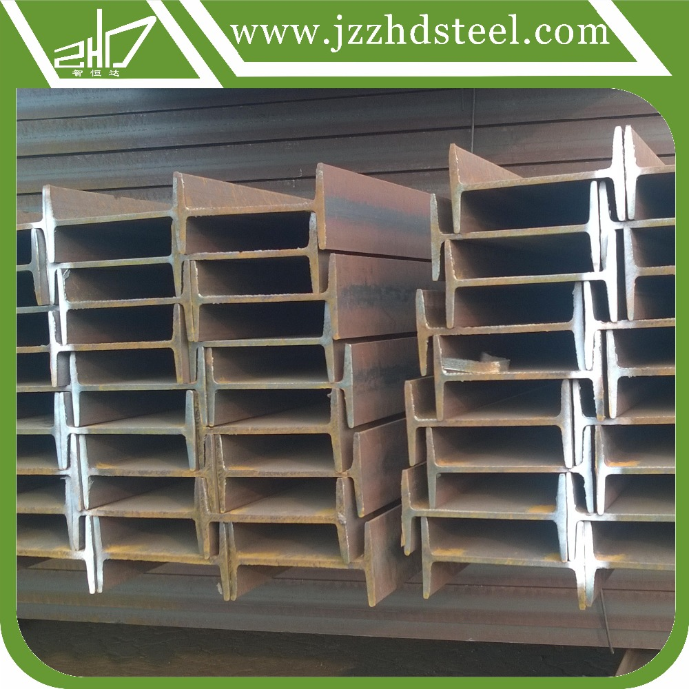 ASTM A36 AISI standard I beam steel with galvanized