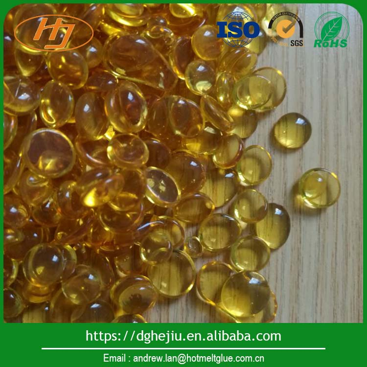 Transparent amber hot melt adhesive for auto industry, shoes lamination adhesive