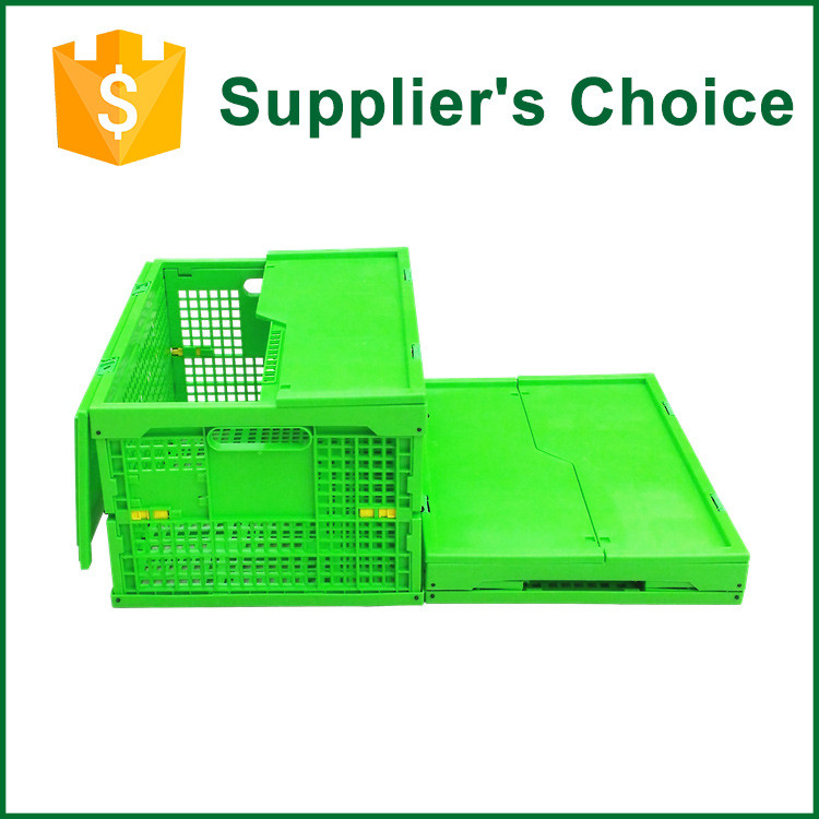 Square Collapsible Stacking Plastic Crate