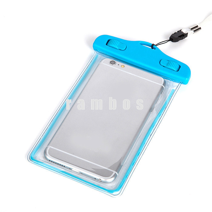 10M PVC Mobile Phone Waterproof Bag Pouch Case Cover Universal Crystal Swimming Beach Protective Cases for Lenovo S920