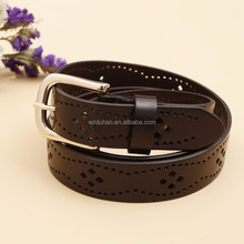 Hotselling Hollow Out Elegant Raw Cow Hide Leather Belts For Women