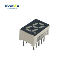 Shenzhen factory 0.32 inch one digit common anode 635nm 7 segment led numeric display