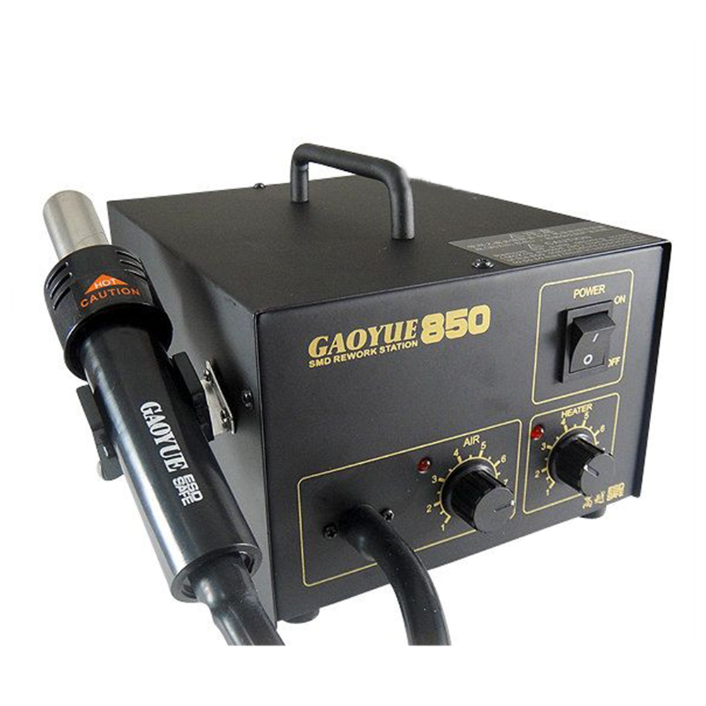 IC995 2 in 1 850 led hor air smd rework soldering iron station