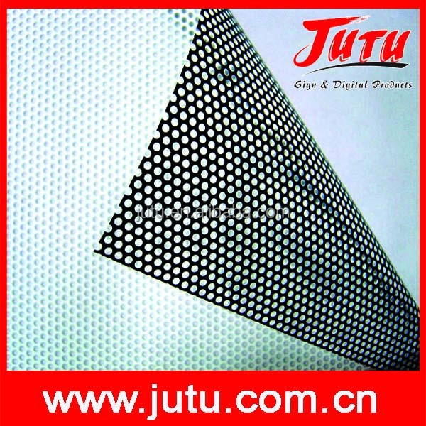 Perforated vinyl, One Way Vision Film, Bus Cover