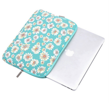 Popular design flower print neoprene laptop sleeve for different size