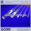 silicon rod Quartz rod slot transparent quartz rod