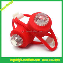 convenience and fixable Silicone LED Bicycle Light
