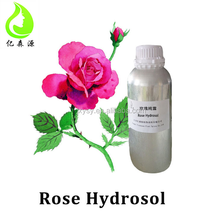Rose Hydrosol Organic Floral Water Rose Flower Plant Extract Benefits for Face / Skin / Hair / Eye Health Care Factory Wholesale