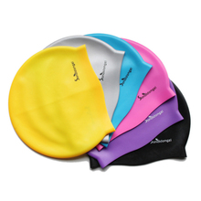 Silicone Material Custom printed swimming caps