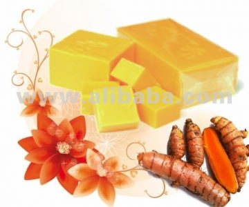 Herbal Tumeric Acne Pimple Whitening Medicated Handmade Soap from Thailand