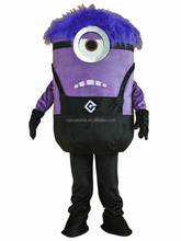 Minions Despicable Me Mascot Costume EPE Fancy Dress Outfit Adult -19 Stock