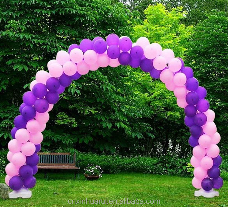 Promotional supply arch stand balloon by round ballons
