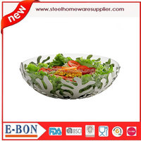 new style stainless steel salad bowl