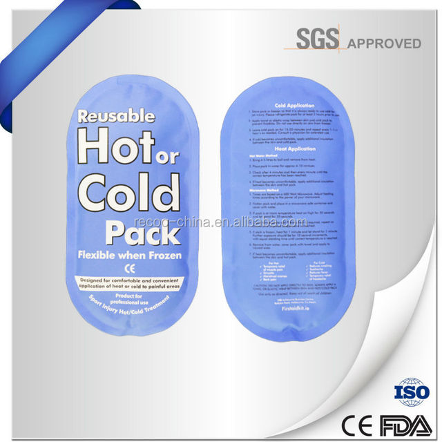 Back Pain Relief Hot Cold Gel Therapy Ice Pack Freeze
