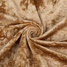 new coming embossed velour fabric upholstery fabric for sofa