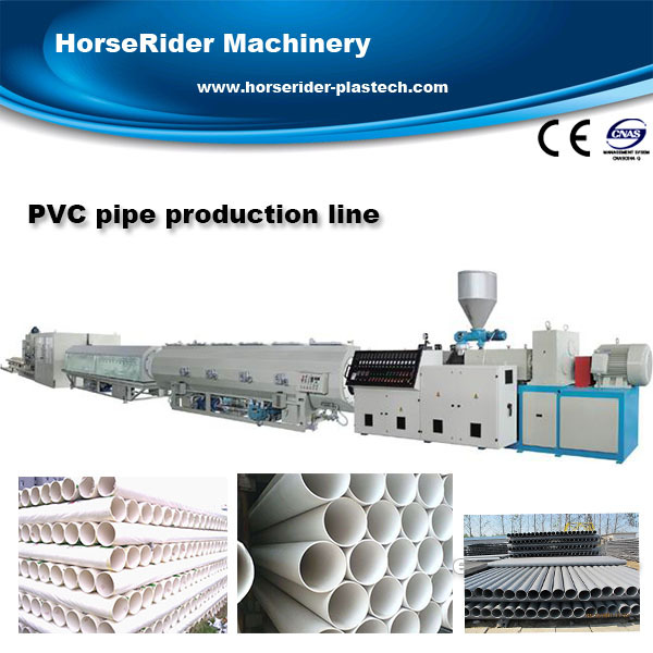 professional Plastic pipe extrusion machine