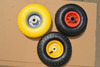 hot sale solid pu hand truck wheel 3.00-4 / 4.00-8 with metal / plastic rim