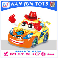 hot sale mini car toy with light and dance