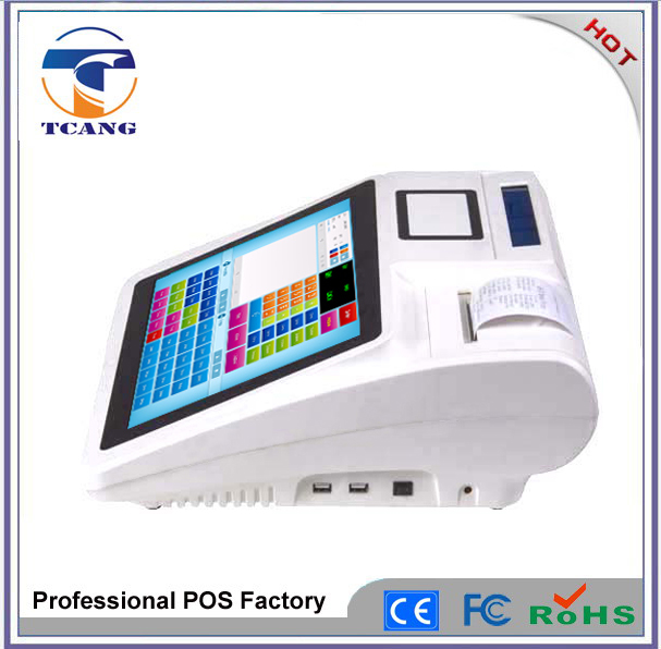 Cheap pos system pos hardware only touch screen pos machine