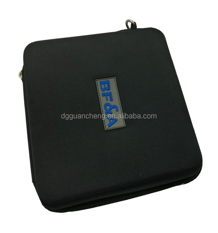 GC-Black color nylon EVA box for digital Drive EVA packing box