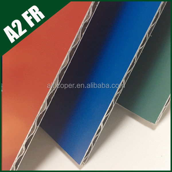 Outdoor usage and fire resistant decorative perforated aluminum sheet