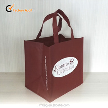 customized brand recycled shopping pp non woven bag
