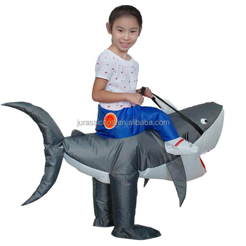 Kid Shark Inflatable Costume For Carnival Holiday