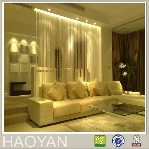 new design romantic style drape curtain for home supplies