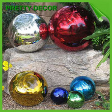 Decorating Big Christmas Steel Balls