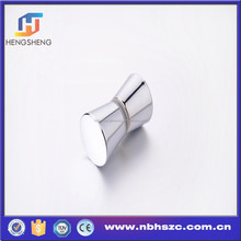 High quality conical zinc alloy shower door handle
