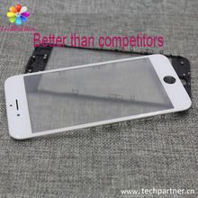 Cold press frame drop pressure test Best Original factory for iphone 6 6s 7 glass with frame OCA