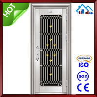 QD-SS027 Big Size Gold Colour Stainless Steel Door