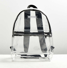 Wholesale Unisex Clear Vinyl Backpack