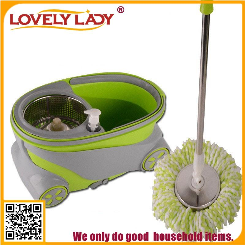 cleaning products for the home rotating mop wringer bucket with wheels