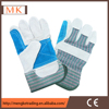 chrome leather gloves industrial leather safety glove for welding