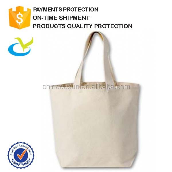 Wholesale fashion promotional custom printed white cotton canvas bag,canvas tote bag
