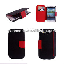 for samsung galaxy s3 filp cover i9300, for galaxy s3 leather case