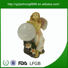 Polyresin craft supplies dropship christmas ornament craft supply angel garden figurine