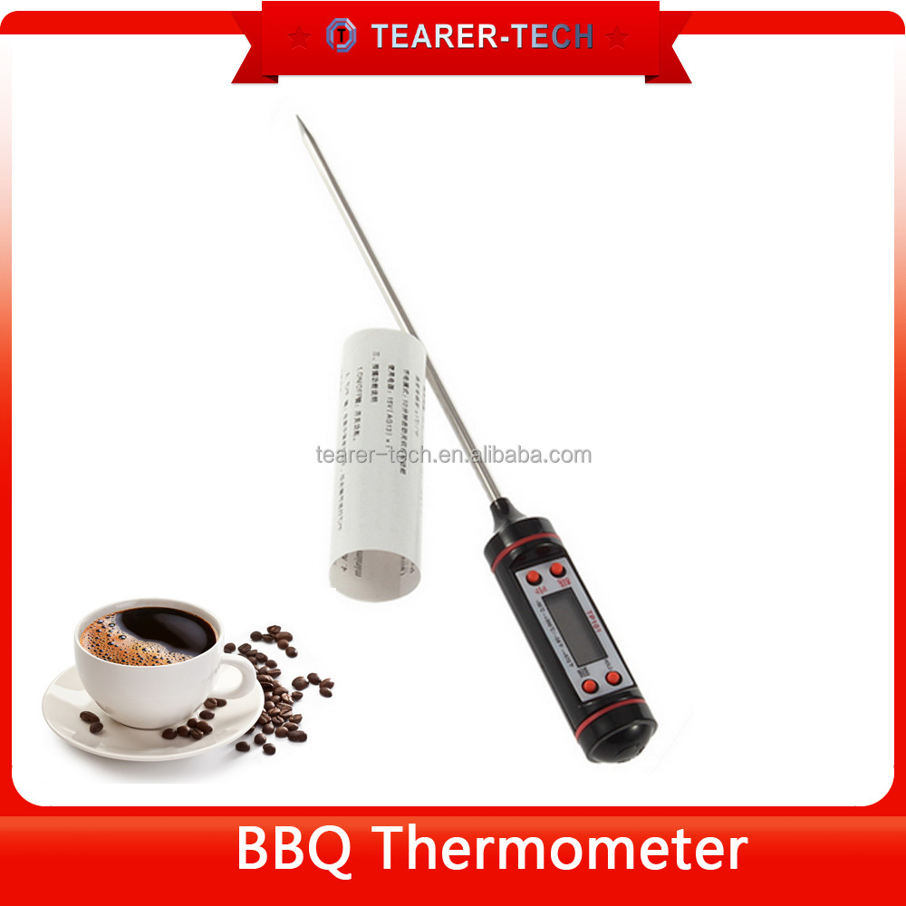 Digital Cooking Thermometer - Instant Read - Best For All Food, Meat, Candy, Baking, Grill, BBQ, Poultry, Liquid, Smoker, Brewin