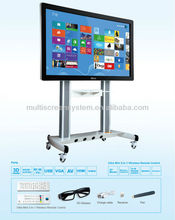 65inch EKAA Large size All-In-One desktop computer with 3DTV/wifi/camera/BD-DVD/microphone spare parts tablet touch screen