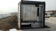 SGS test new technology steel container homes
