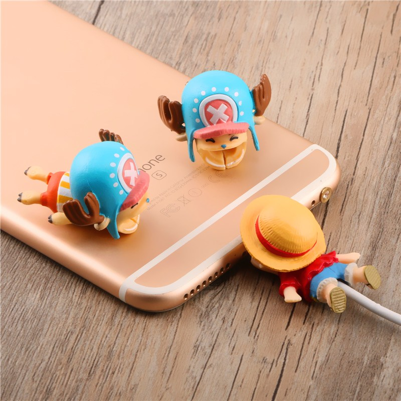 Three-dimensional cartoon Phone accessories promotion gift Cable Animal Bite for Phone USB Cable <strong>protecter</strong>