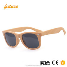 2140 Yiwu Future PC Frame Resin Lenses Hot Wood Grain Driving UV400 2017 <strong>Bamboo</strong> Wooden Sunglasses