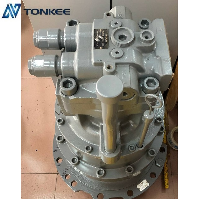 4398514 swing motor assy with gearbox HMGF11CB ZX200-3 rotation motor assembly ZX200LC swing device with motor