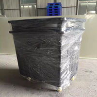 Rotational molded transfer equipment water tank large plastic square barrel