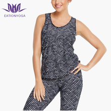 Cheap Wholesale Apparel Tank Top Dry Fit Women Yoga Gym Sleeveless T-Shirt for Women