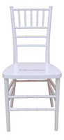 Hot sale wholesale stackable chateau white resin chiavari Versailles chairs