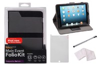 Mazz Folio Kits for iPad mini (fits both 1st and 2nd generation)
